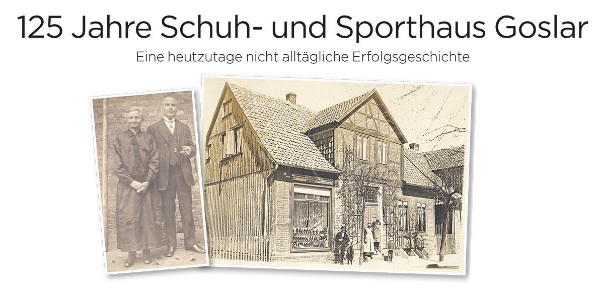125 Jahre Schuh- und Sporthaus Goslar